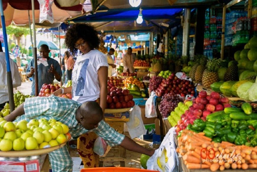 Lagos food markets