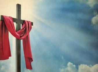Easter cross sin