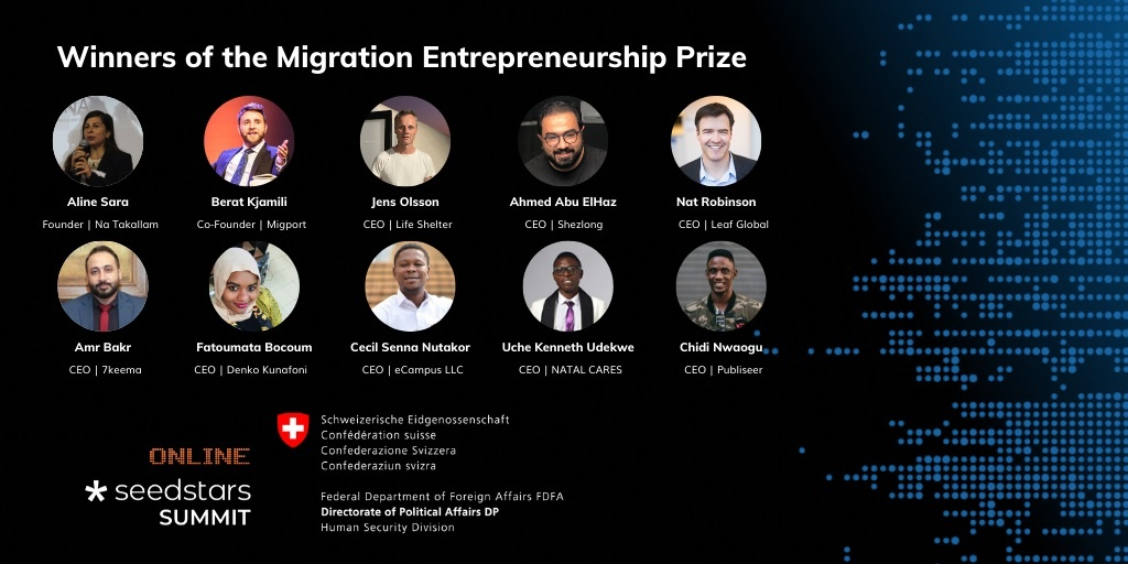 Migration Entrepreneurship Prize