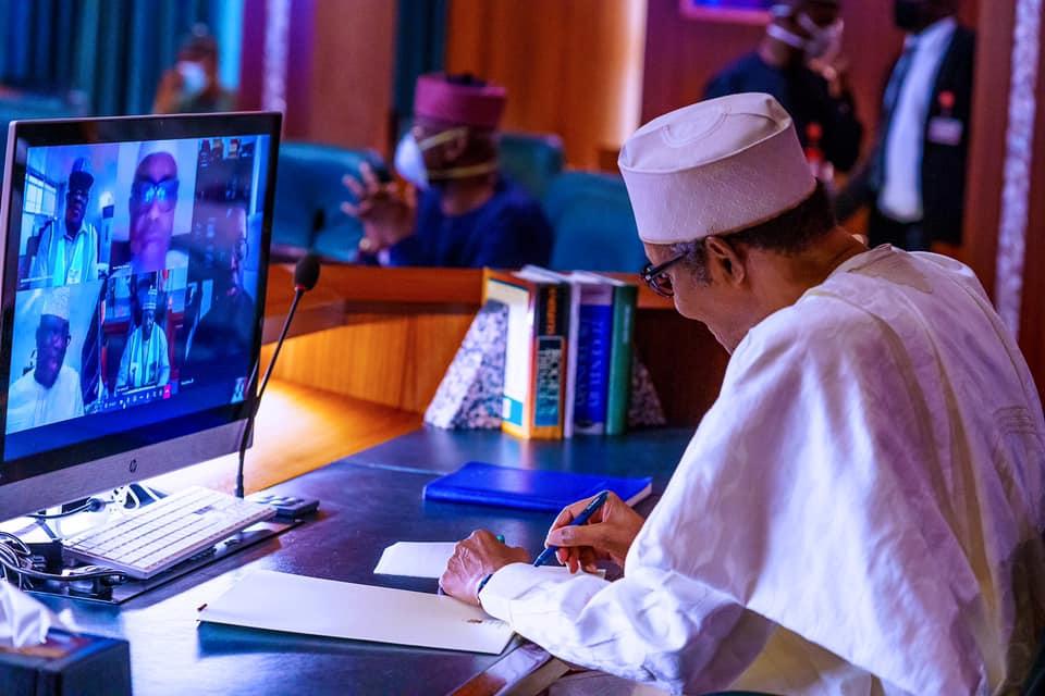 Buhari Governors PTF