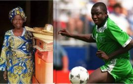 Rashidi Yekini mother