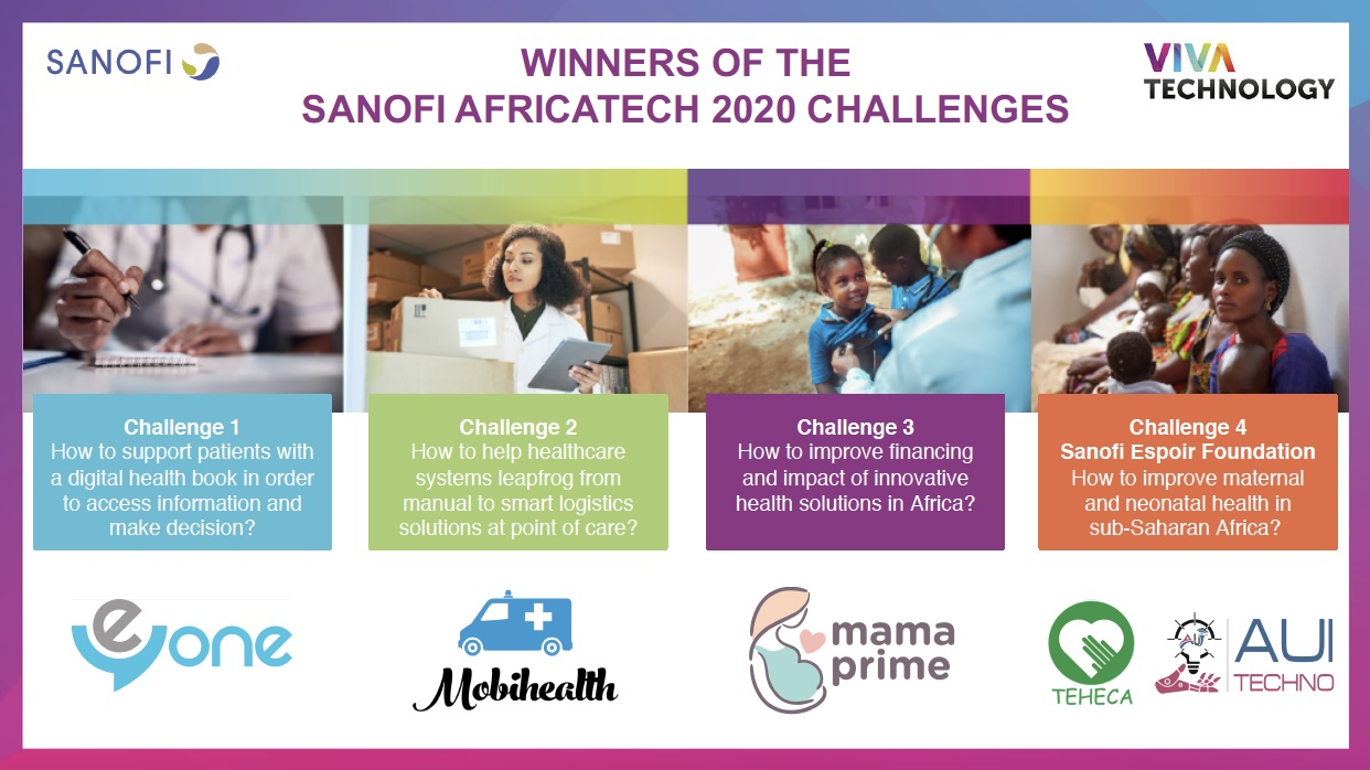 AfricaTech 2020 winners