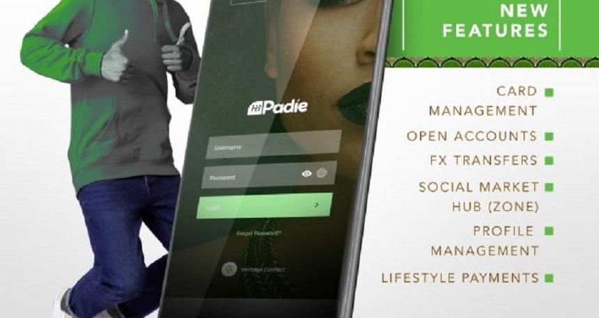 HB Padie App Heritage Bank