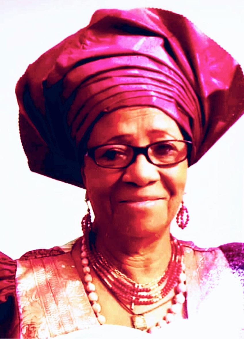 Mrs Marie Okwo Igbo Women Biafra