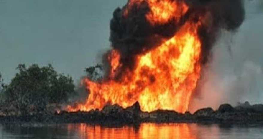 OML 40 Explosion