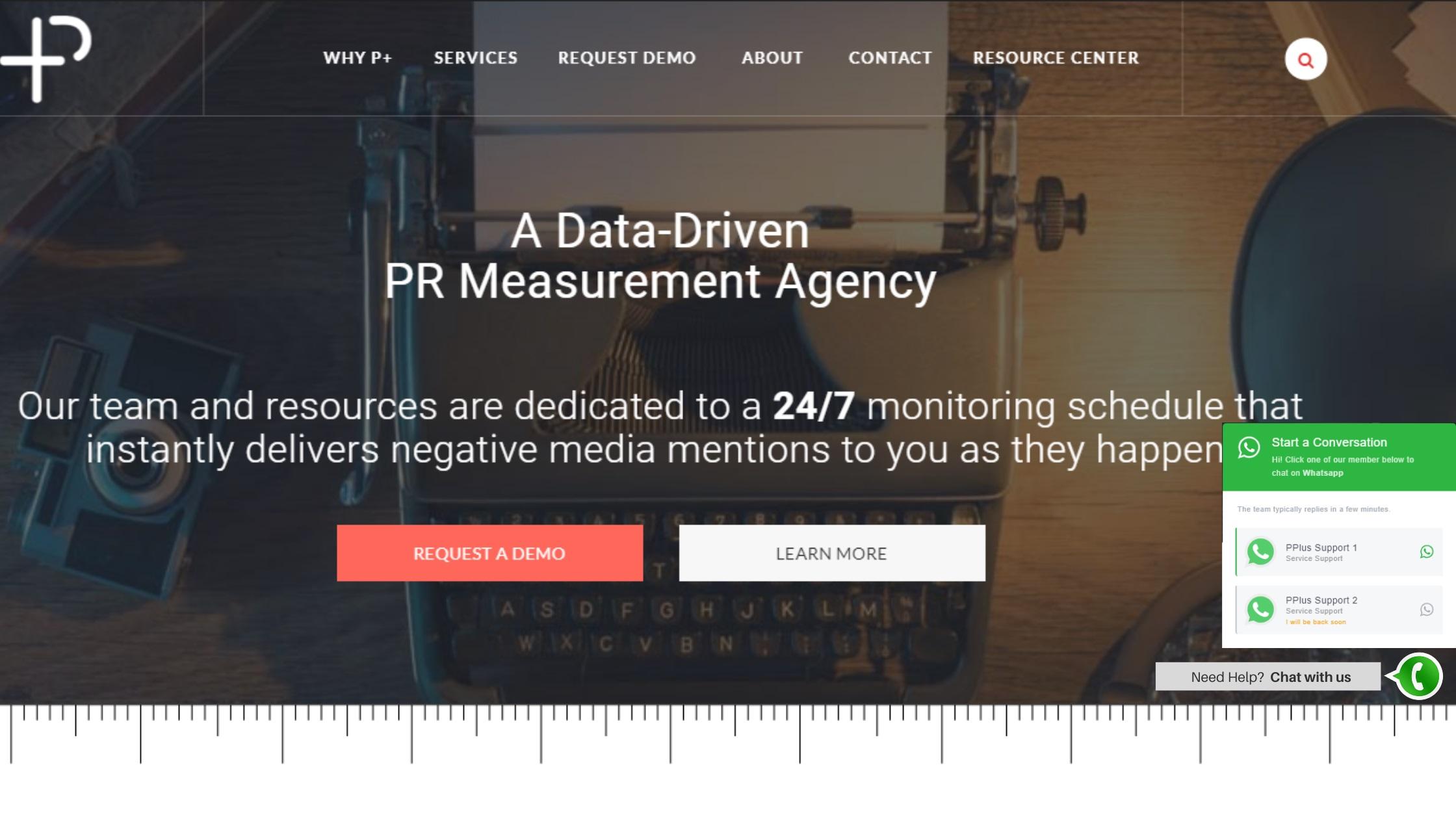 P+ Measurement Chatbot