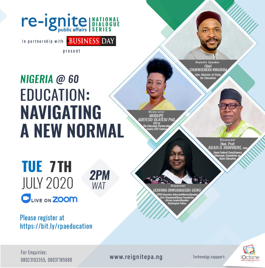 Reignite national Dialogue