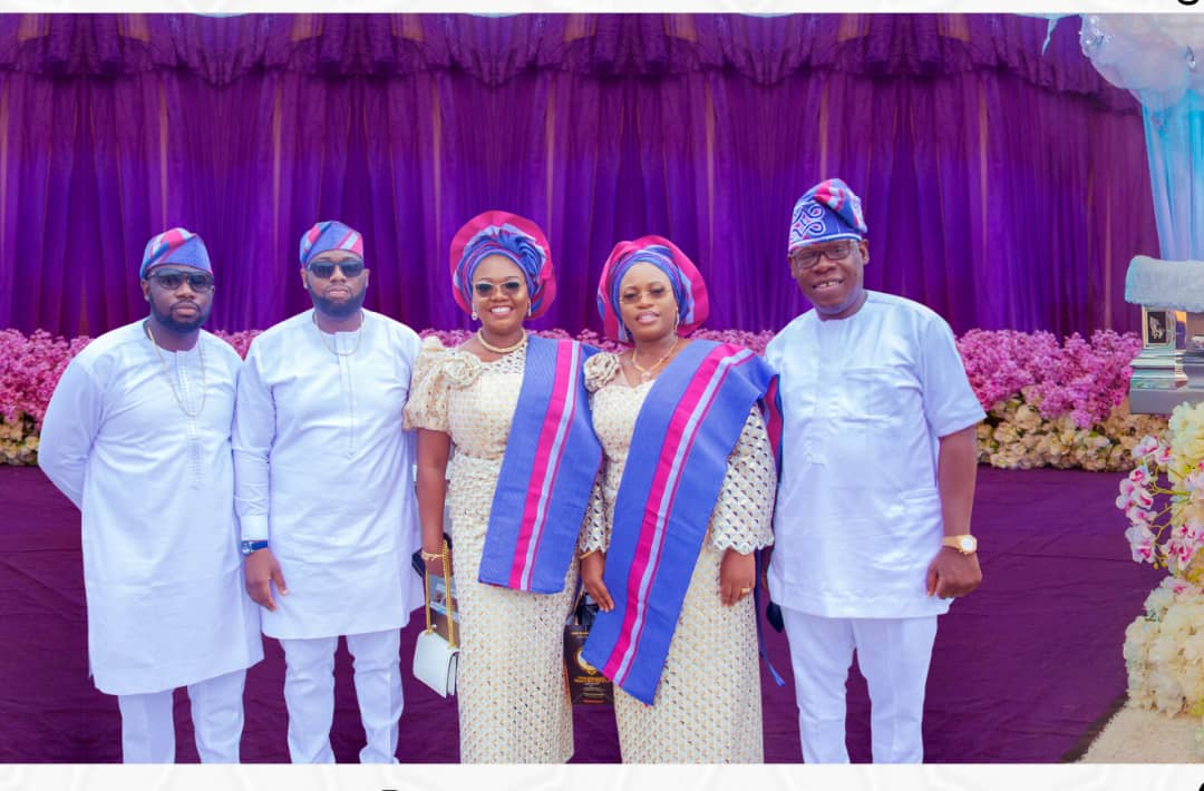 Timi Olubiyi and family