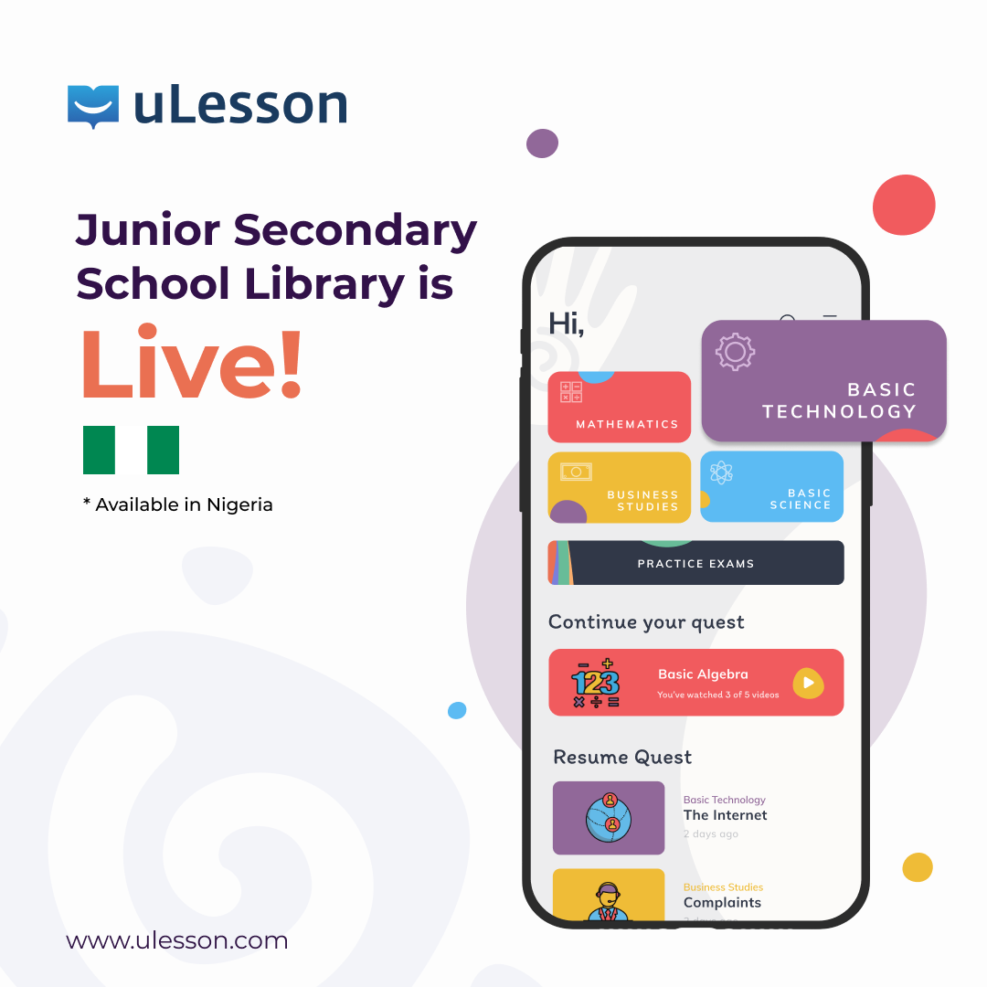 uLesson library content