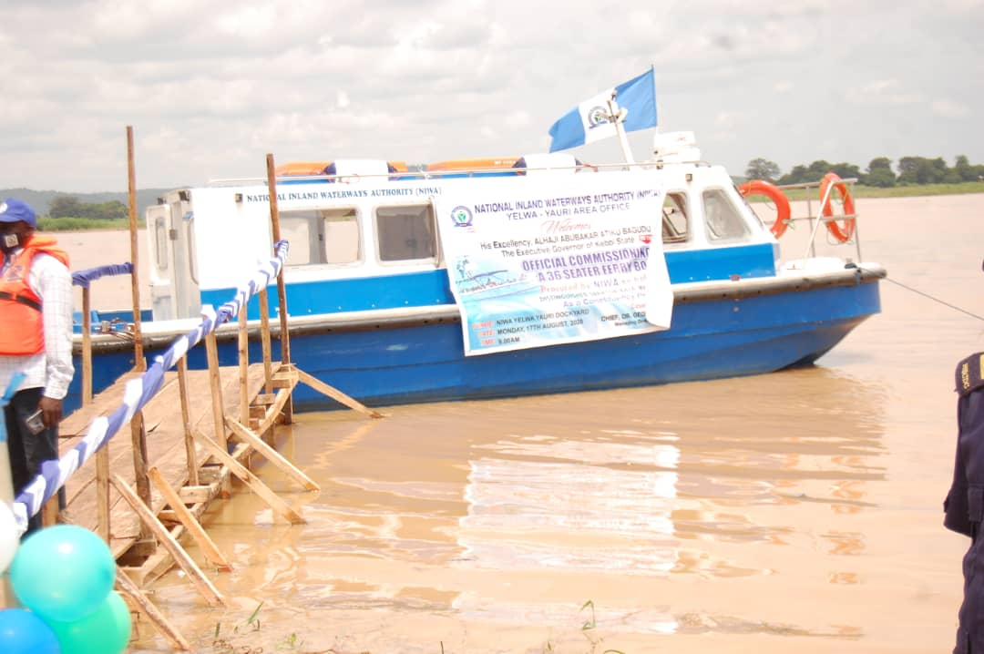 36-seater boat Kebbi