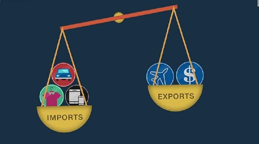trade deficit trade balance