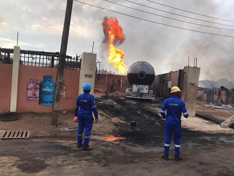 Baruwa gas explosion