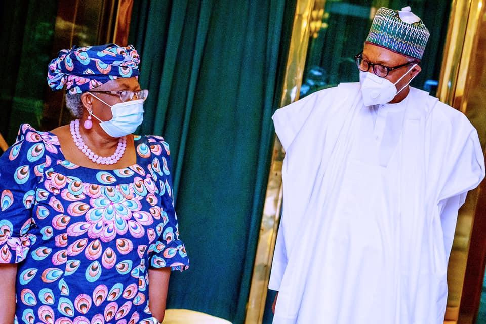 Okonjo-Iweala Buhari