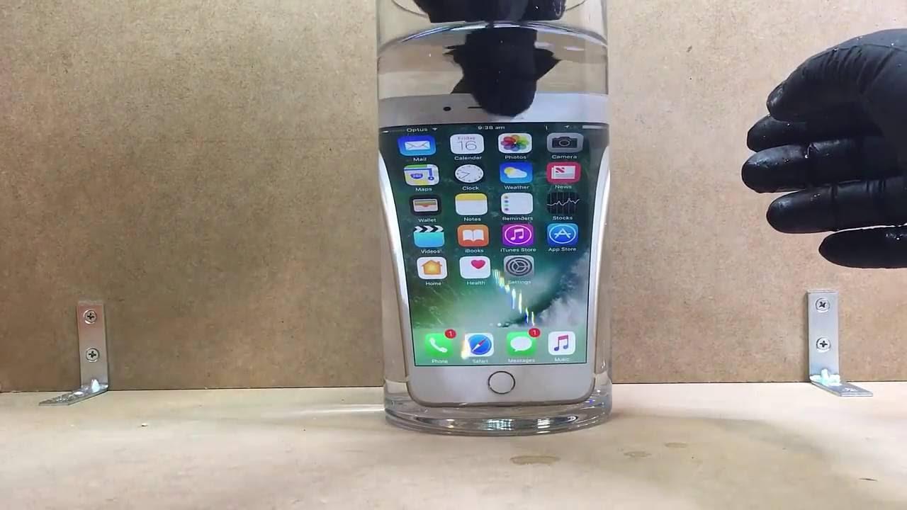 Waterproof iPhones Adverts