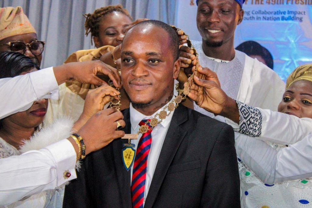 Ayodeji Akinwande JCI Lagos Metropolitan