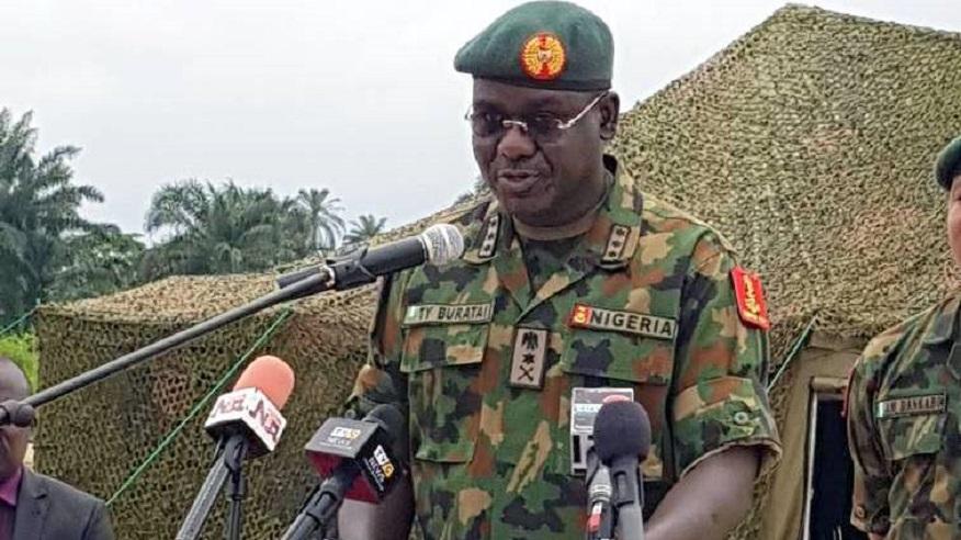 Nigerian Army Tukur Buratai