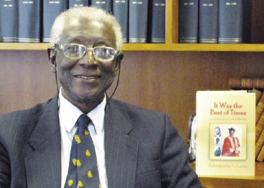 Prof Adetokunbo Lucas Dies