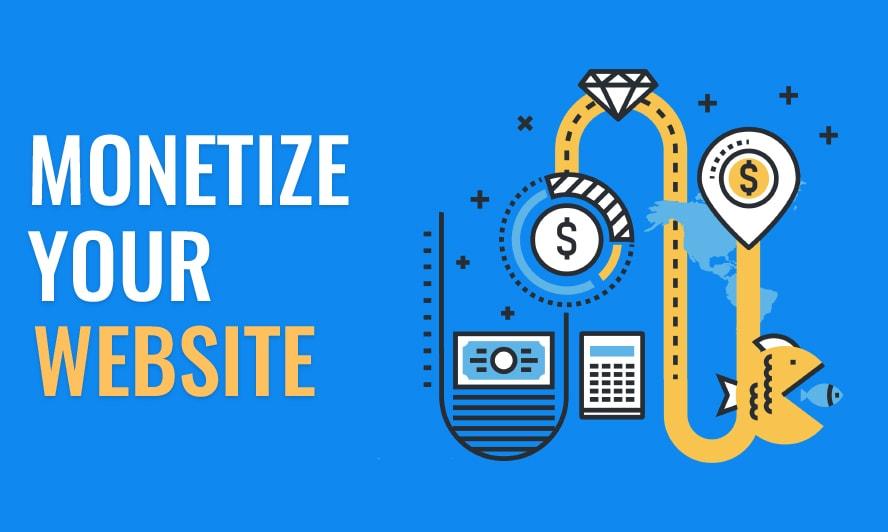 monetize website