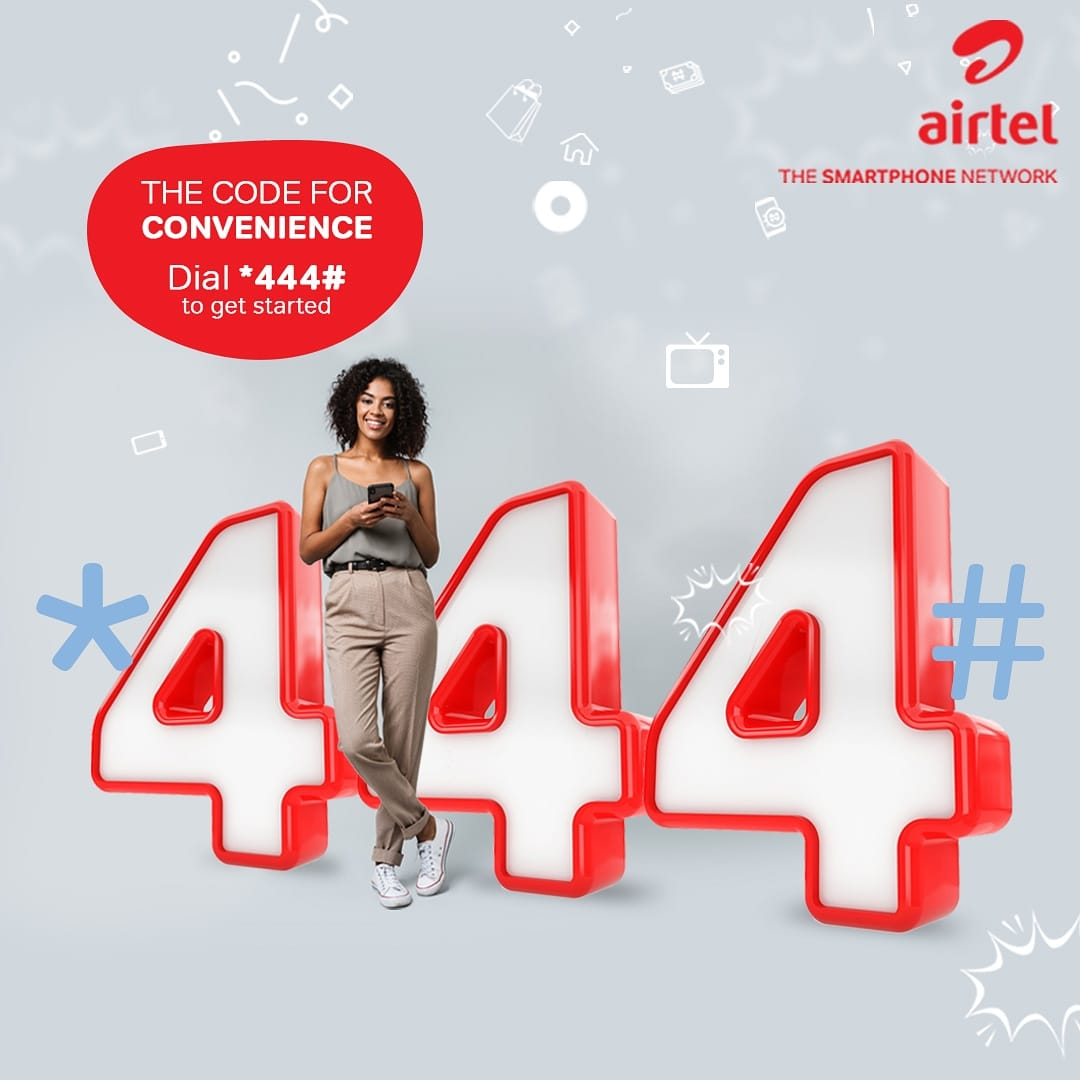 Airtel 444 Data is Life