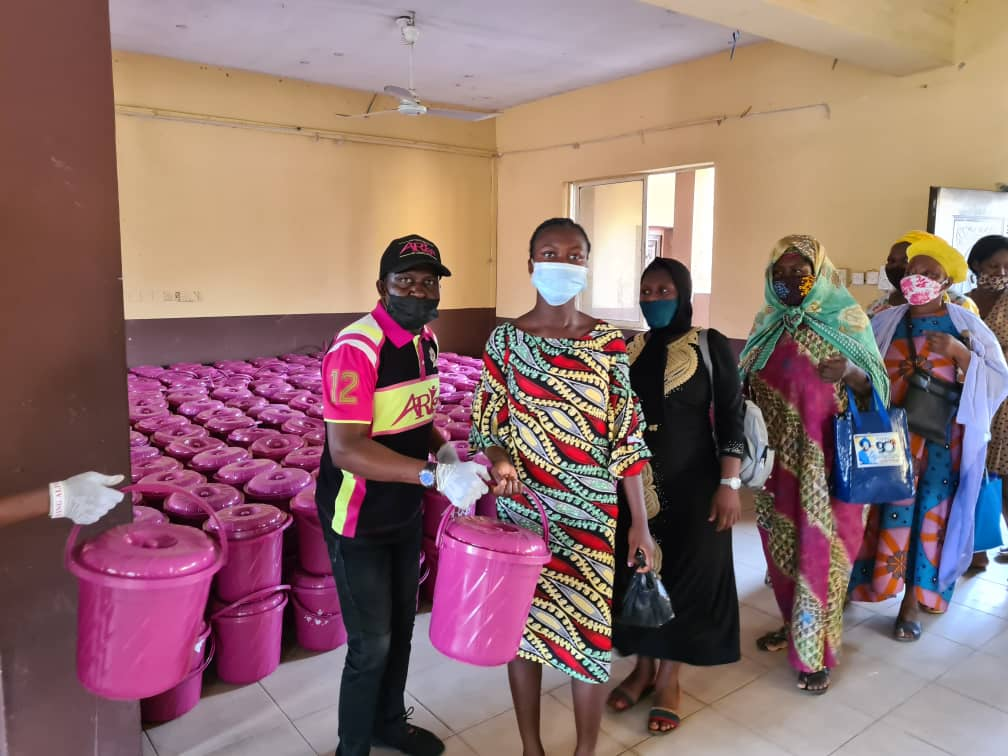 Arise Pink Bucket Oshodi