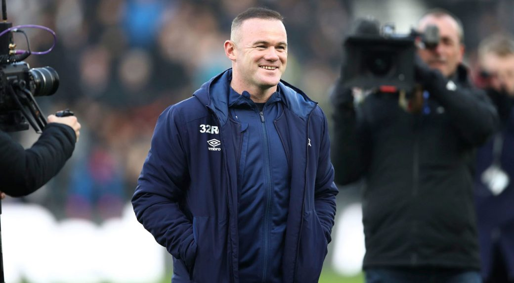 Wayne Rooney Derby County