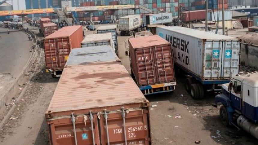 truck container lagos
