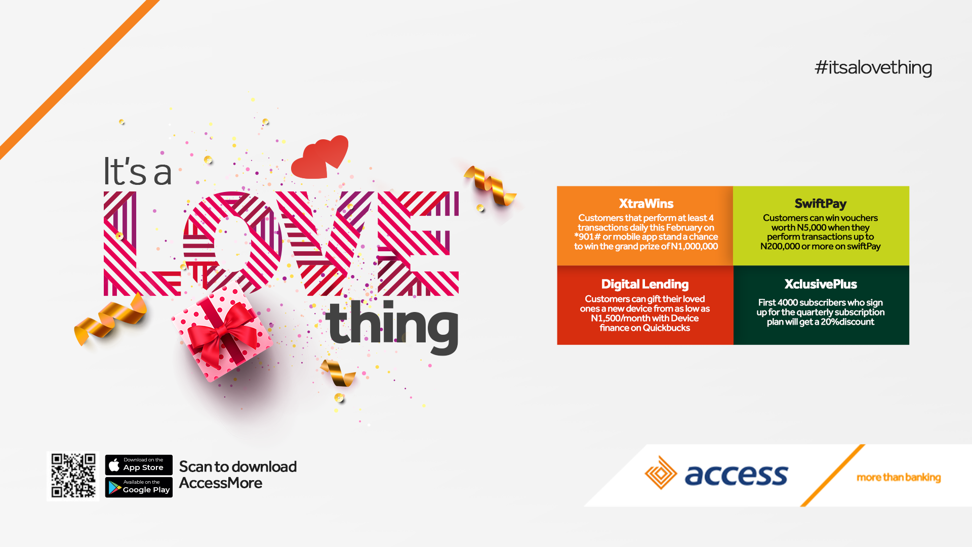 Access Bank It's a love thing
