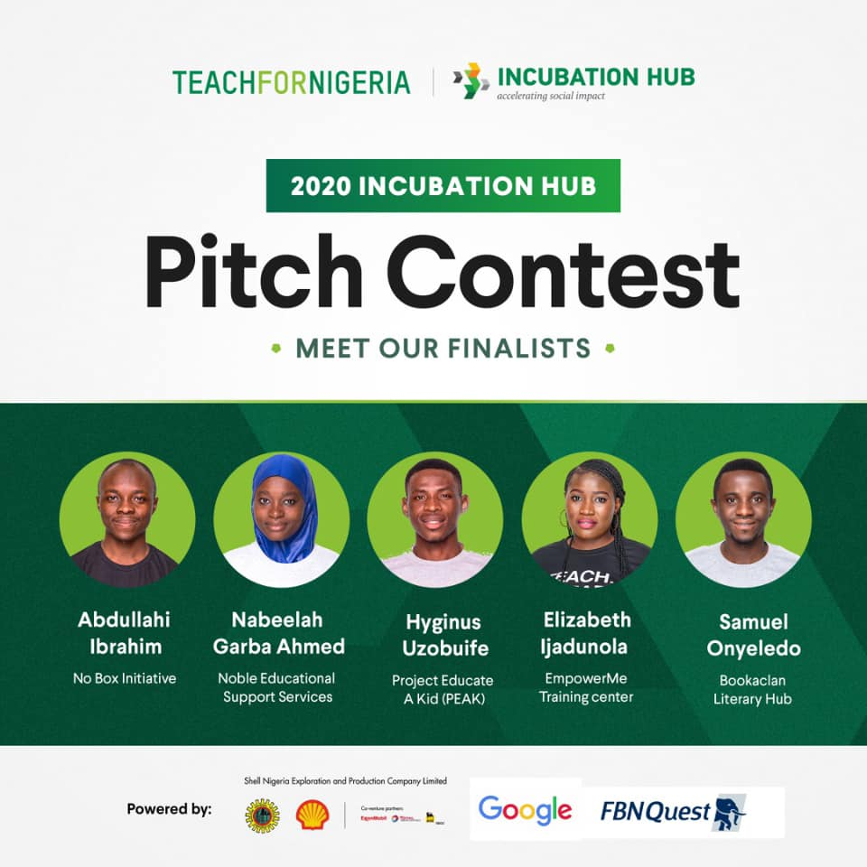Incubation Hub Pitch Contest