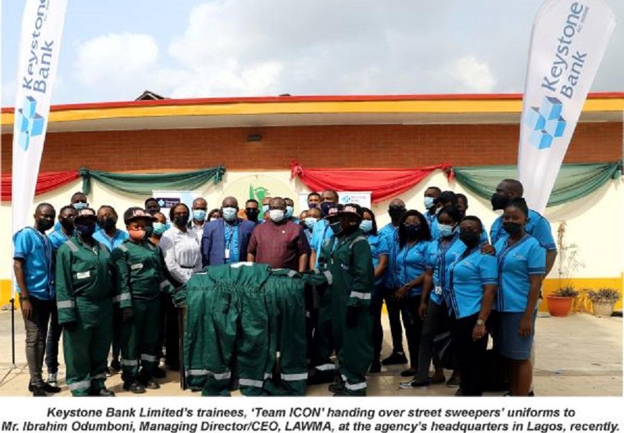 Keystone Bank Boosts Lagos Environmental Sanitation