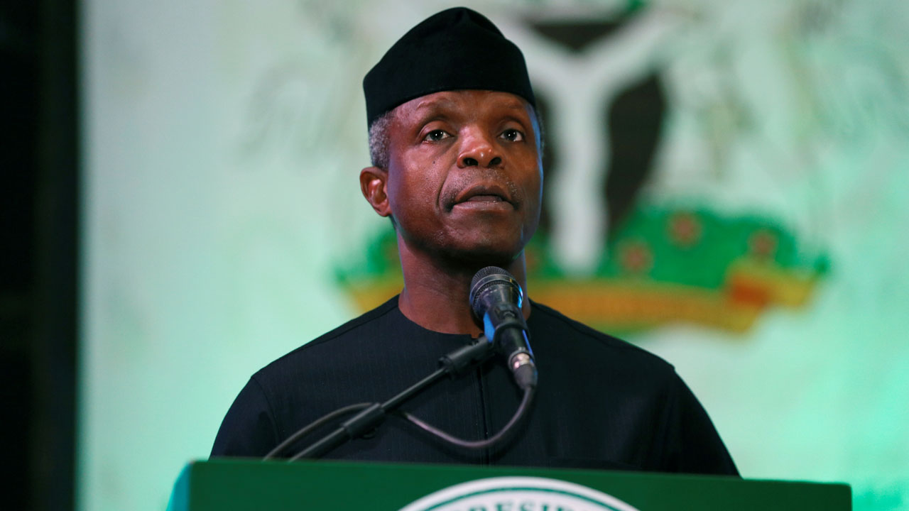 Osinbajo Cryptocurrency Trading