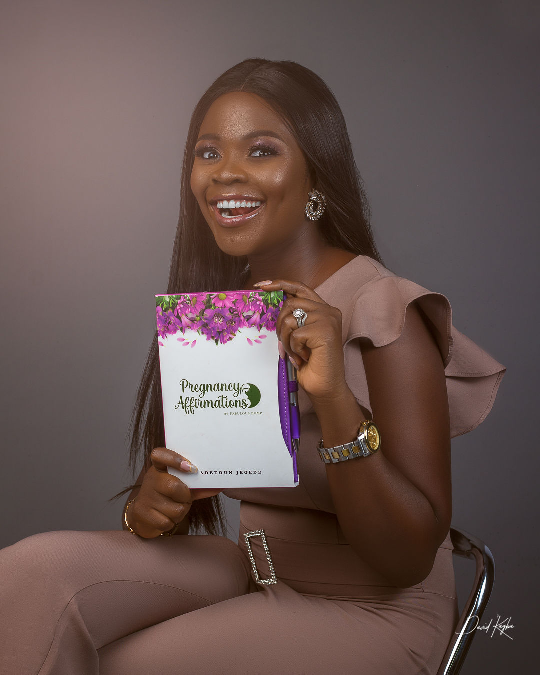 Pregnancy Affirmations Journal Adetoun Jegede
