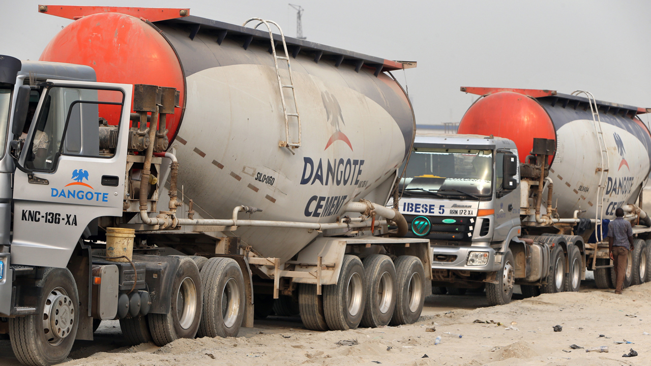 Dangote Cement Revenue