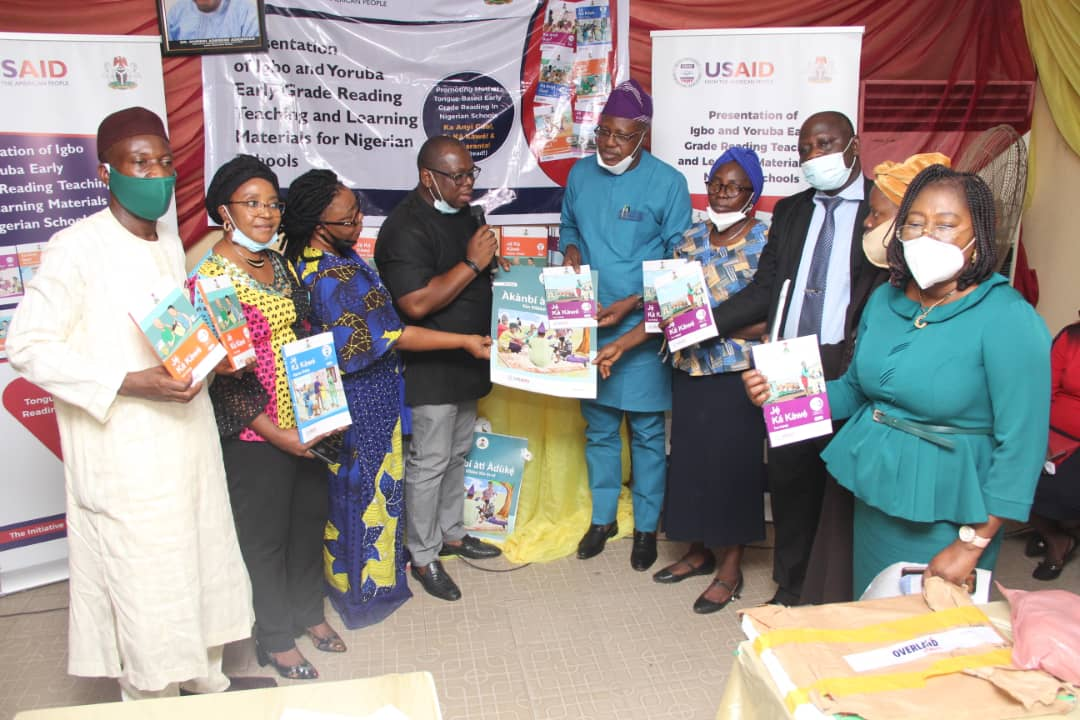 USAID Oyo Textbook reading skills