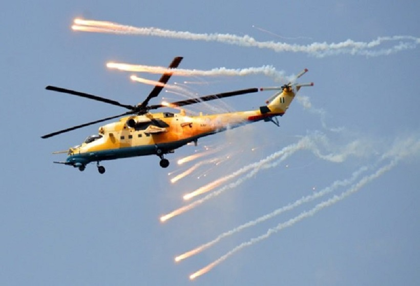 Airstrike on Soldiers in Borno