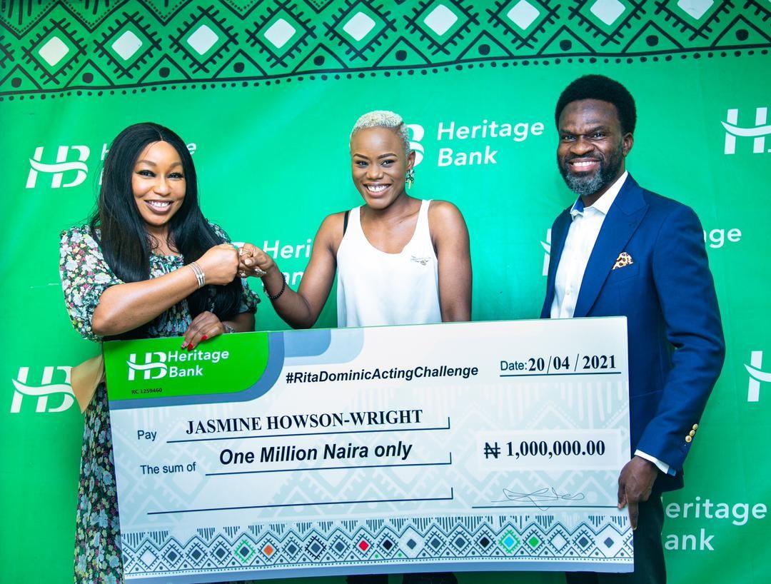 Heritage Bank Rita Dominic Acting Challenge