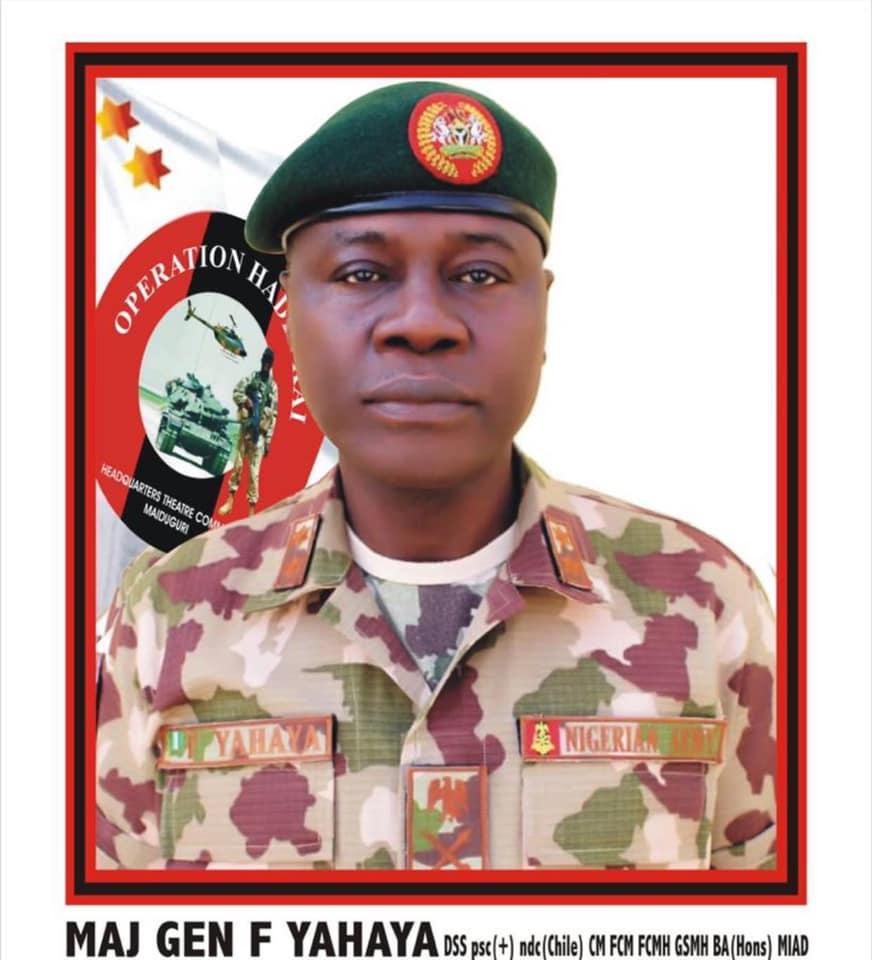 Major General Farouk Yahaya
