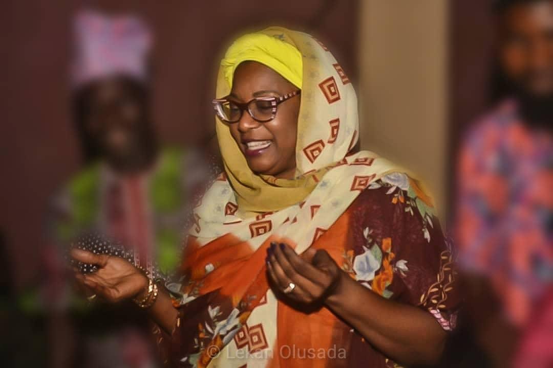 Tolu Akande-Sadipe with hijab
