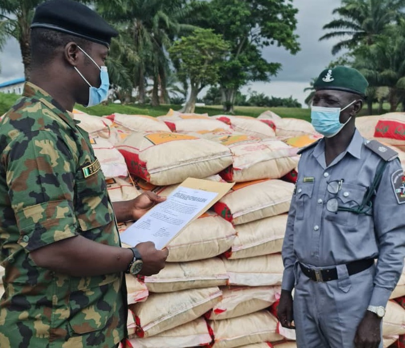 251 bags of smuggled rice