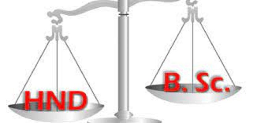 HND/BSC Discrimination