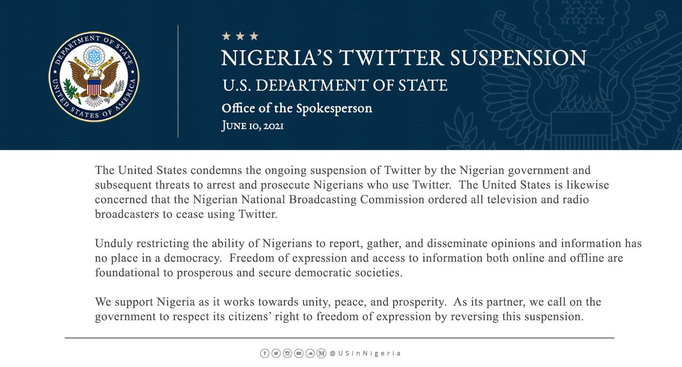 US Twitter suspension