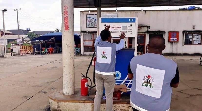 DPR petrol stations