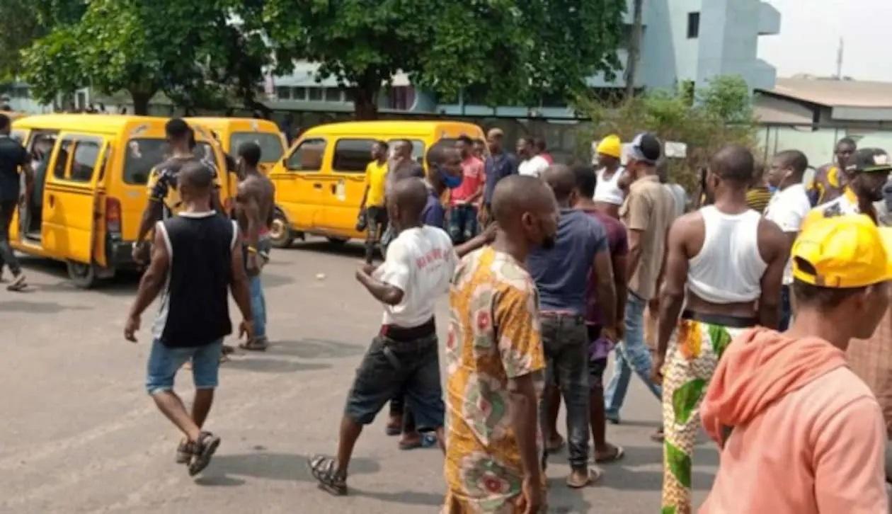Danfo Drivers Protest