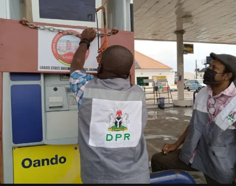 Reopens Filling Stations