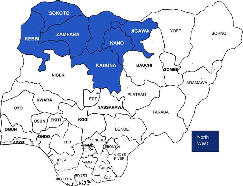 Northwest Nigeria