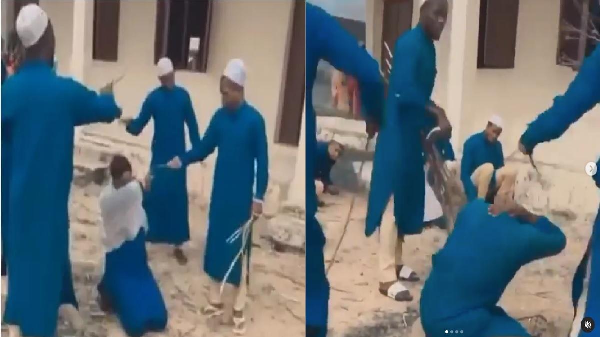 Arabic school beating