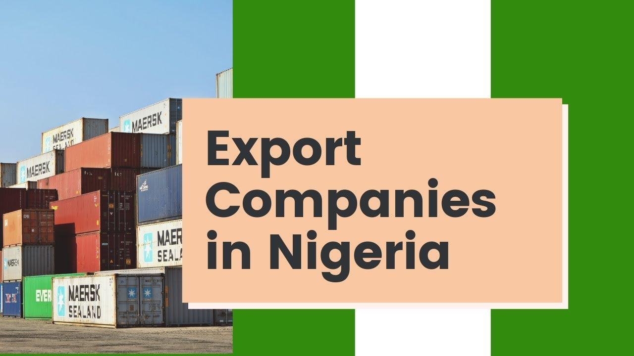 Nigerian exporters